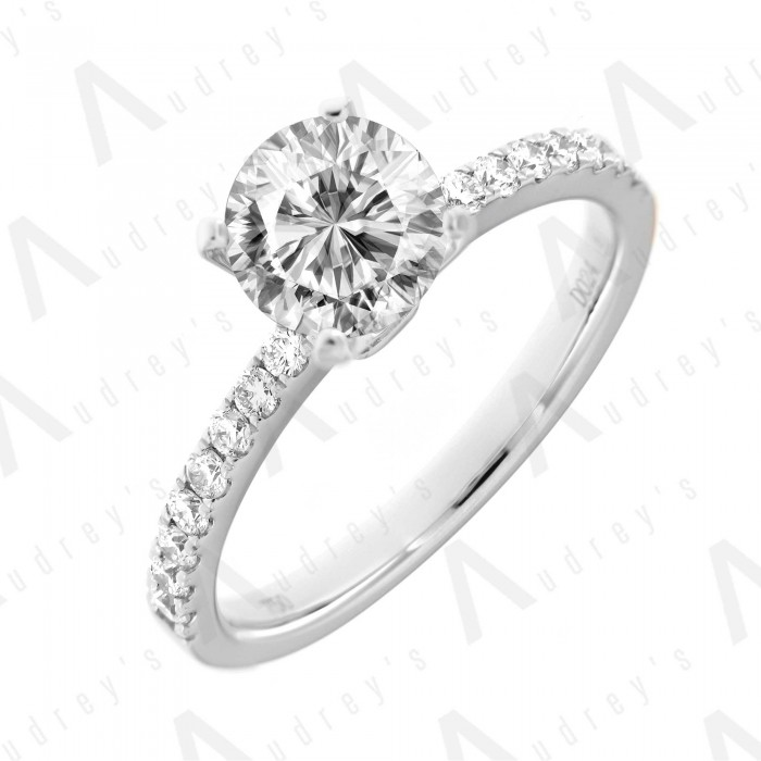 18K TARA DIAMOND RING