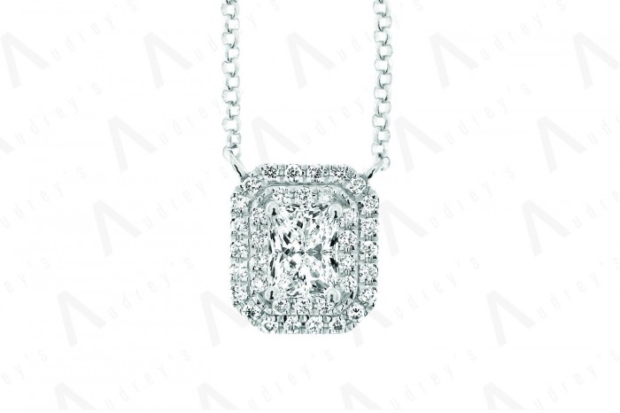 18 KARAT DIAMOND NECKLACE