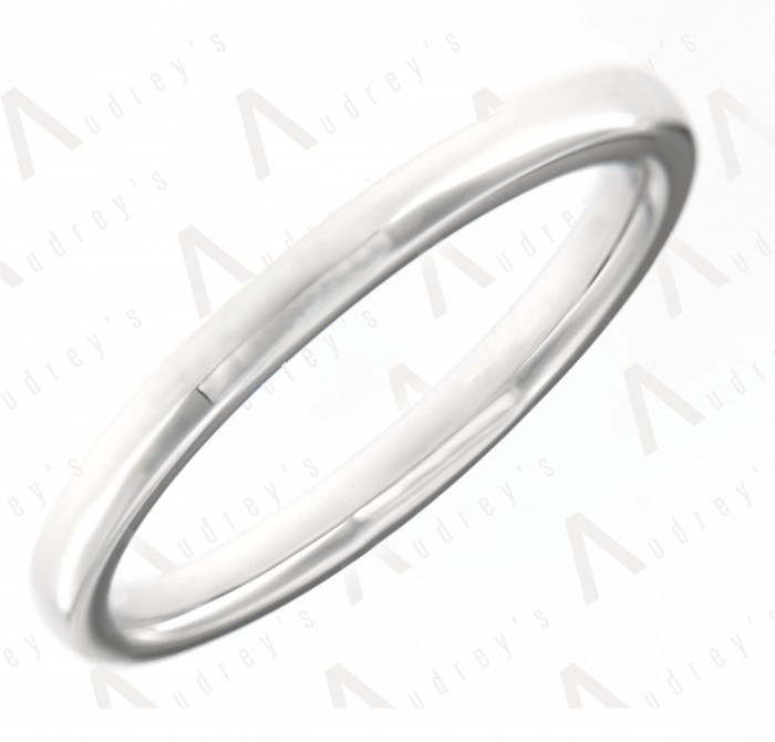18 KARAT 2MM WEDDING BAND FOR HIM