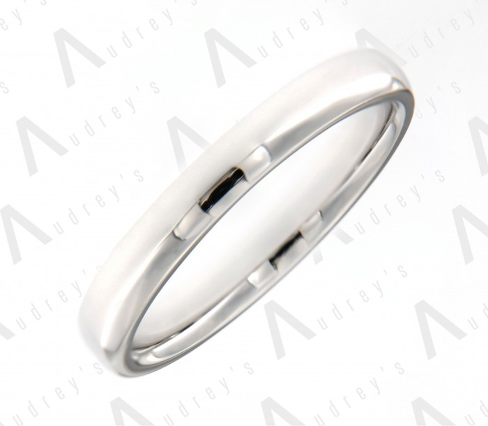 18 KARAT 3MM WEDDING BAND FOR HIM