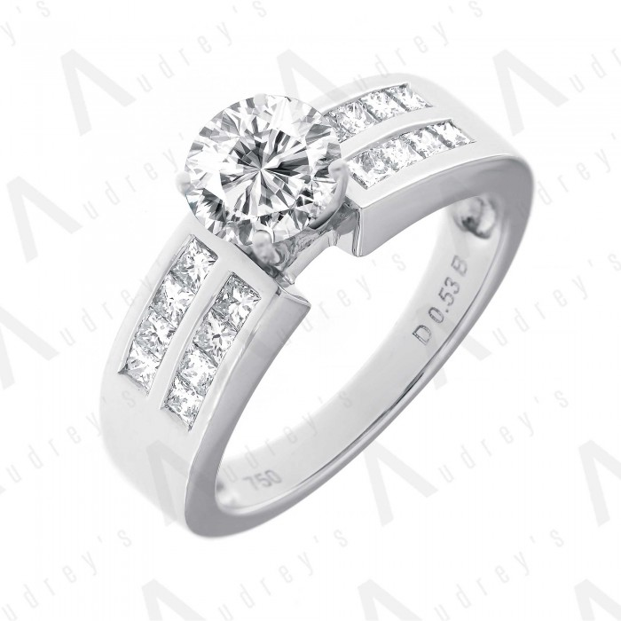 18K LACEY DIAMOND RING