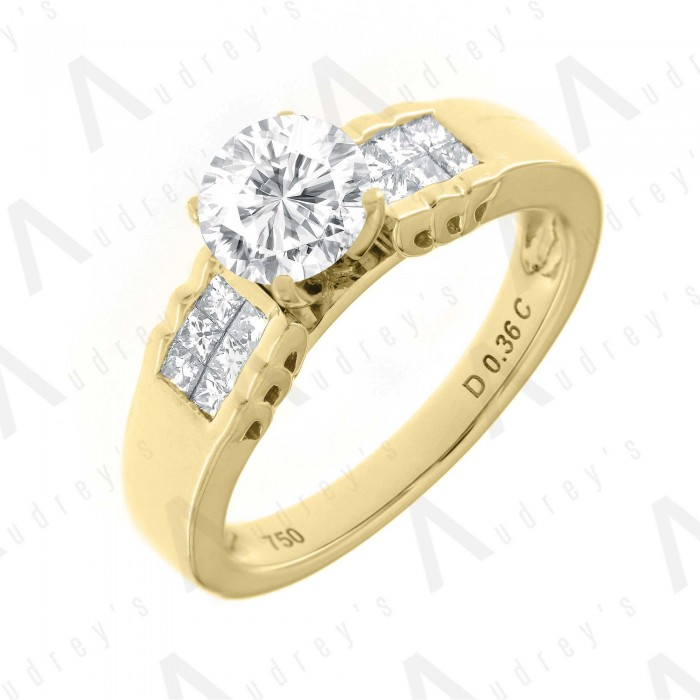 18K JANELLE DIAMOND RING