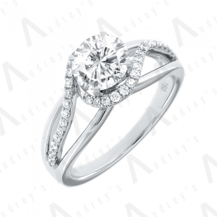 18K ANITA DIAMOND RING