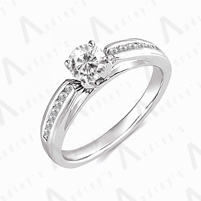 18K LUNA DIAMOND RING