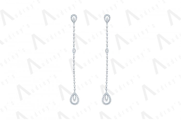 18 KARAT DIAMOND EARRING
