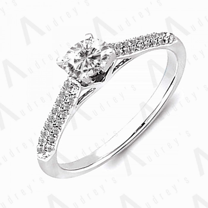 18K SHERI DIAMOND RING